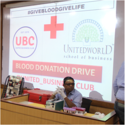 Blood Donation Camp by UWSB