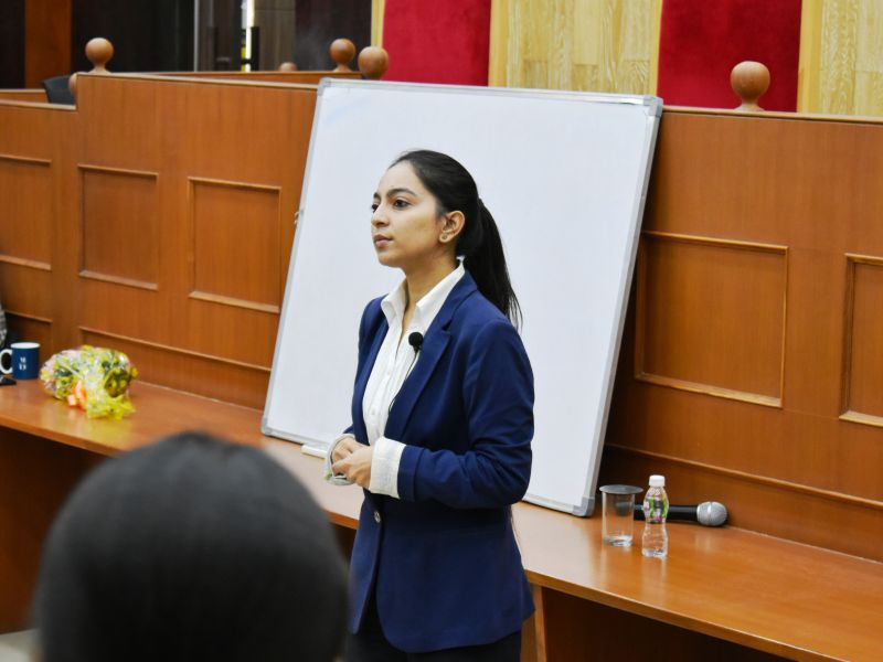 Career in Legal Academia' by Ms. Aafreen Collaco - Karnavati University