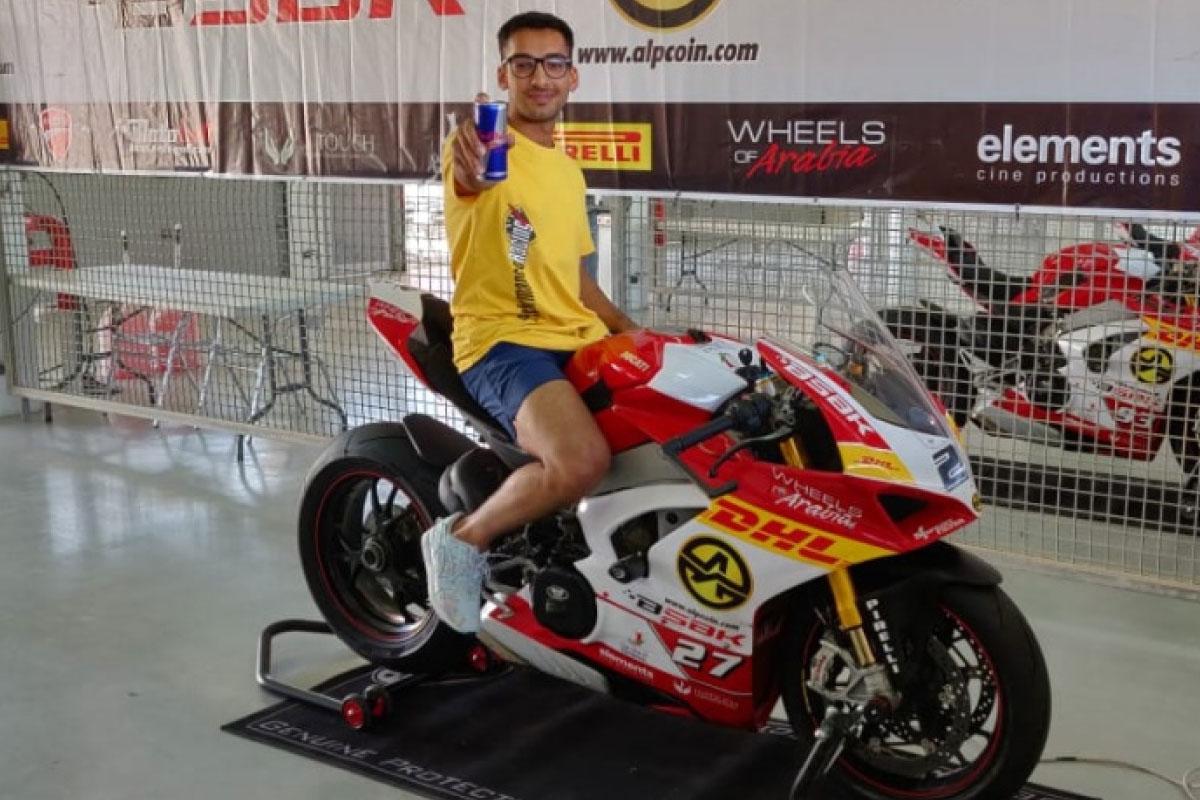 UWSB student wins Bahrain Superbike Championship Image