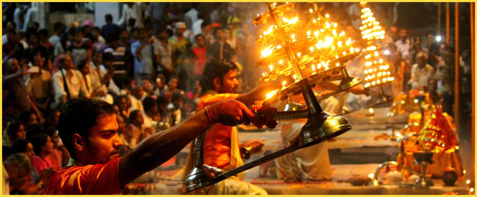 Varanasi- Threads Of Light Image