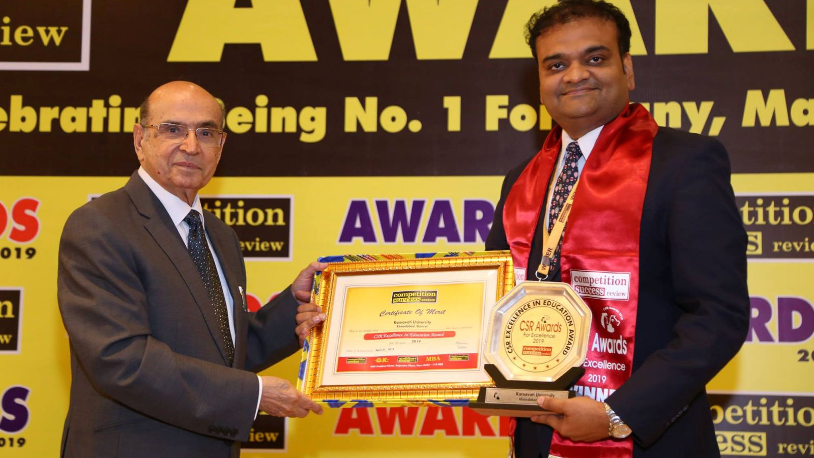 'Excellence in Education 2019' Award for KU Image