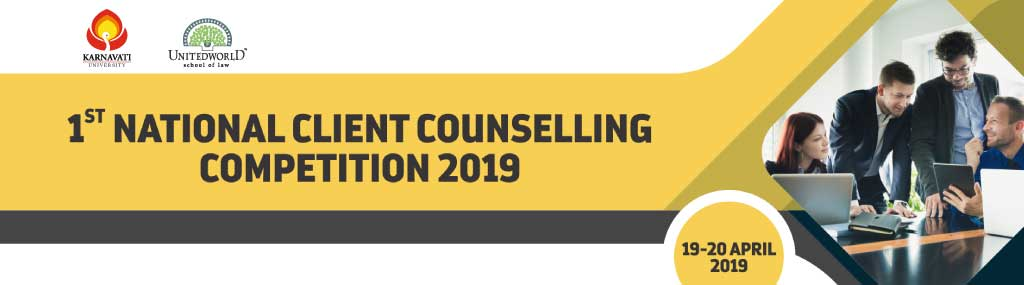 1st National Client Counselling Competition 2019 Image