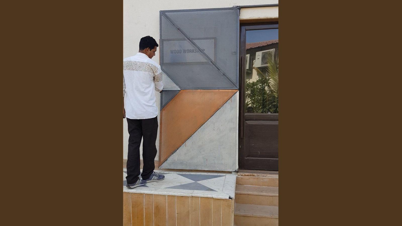 Innovative Door developed at UID Image