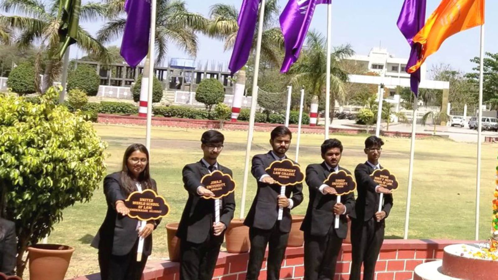 5th Rank in Moot Court Competition Image