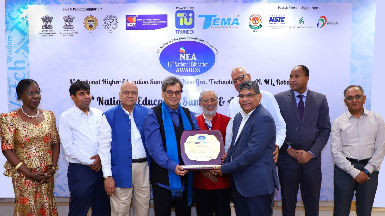 13th National Education & Summit Awards 2019 Image