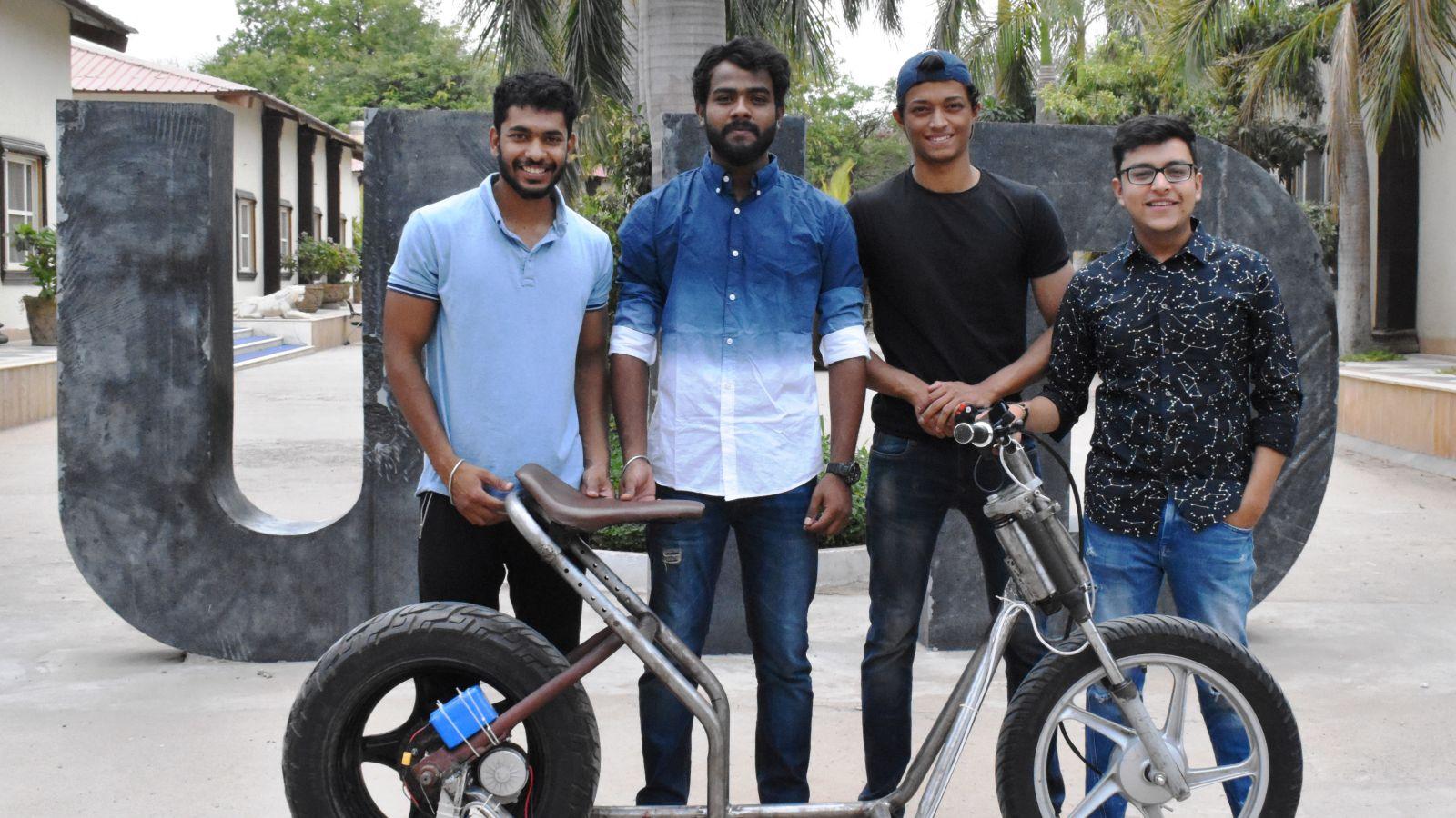 e-Bike designed by UID students Image