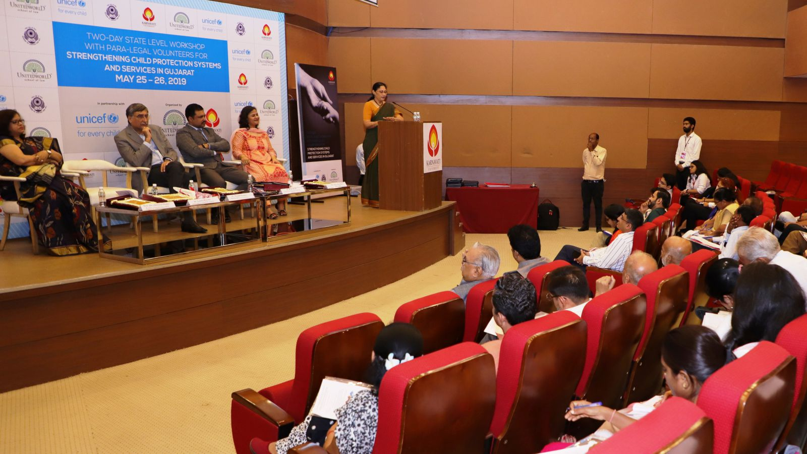 Two-day State Level Workshop with Paralegal Volunteers for Strengthening Child Protection Services in Gujarat Image
