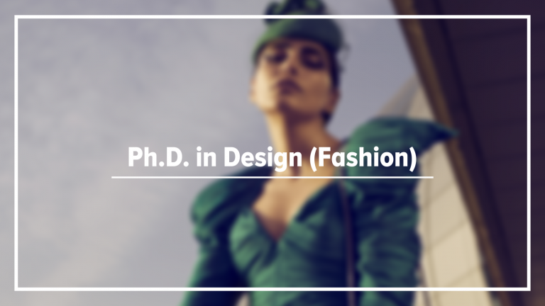 Ph.D in Design (Fashion) - Karnavati University
