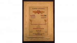 Certificate of Karnavati University