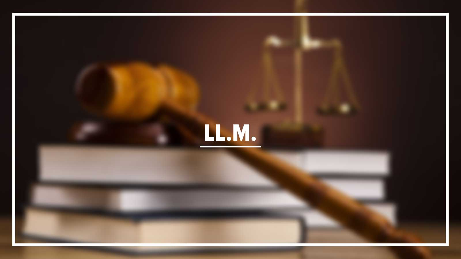Master of Laws (LL.M.) Image