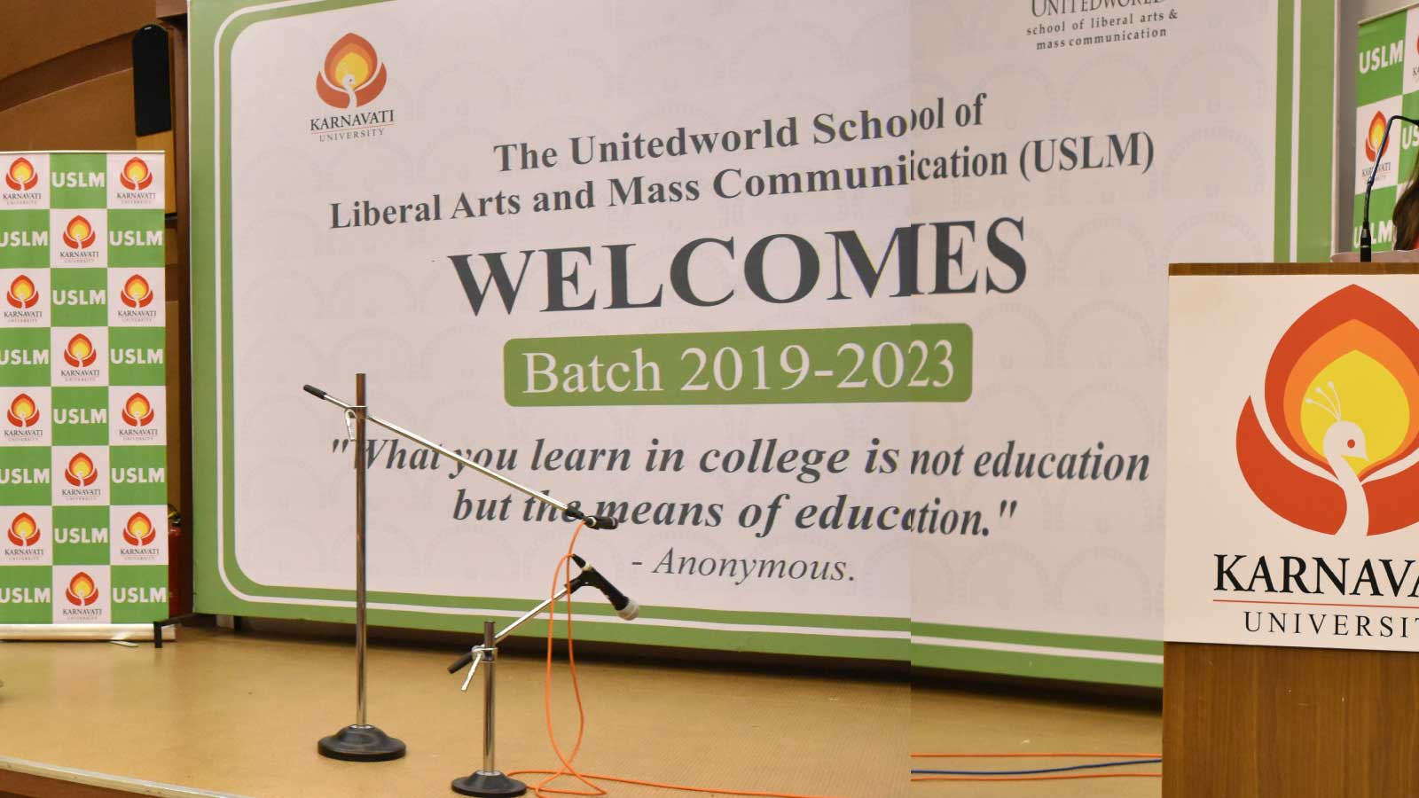 USLM Induction Programme for Batch 2019-23 Image