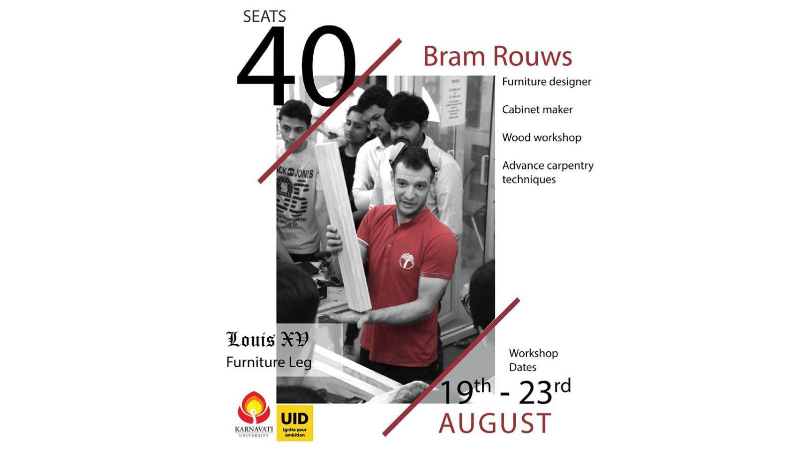 Bram Rouws Workshop Image