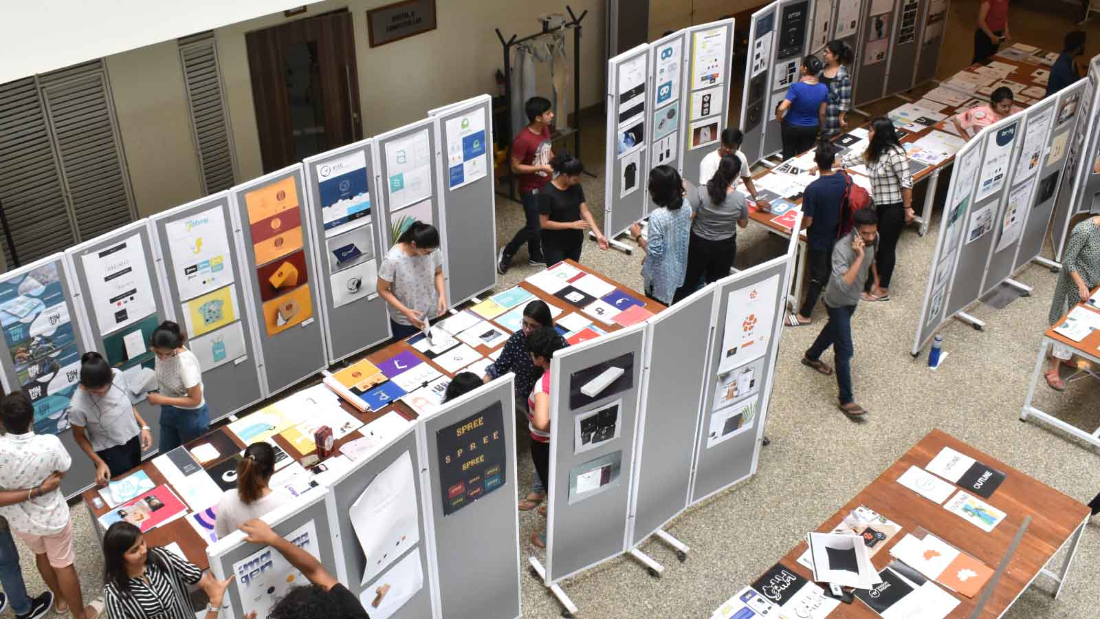 Exhibition on 'Symbol and Corporate I'd Design Image