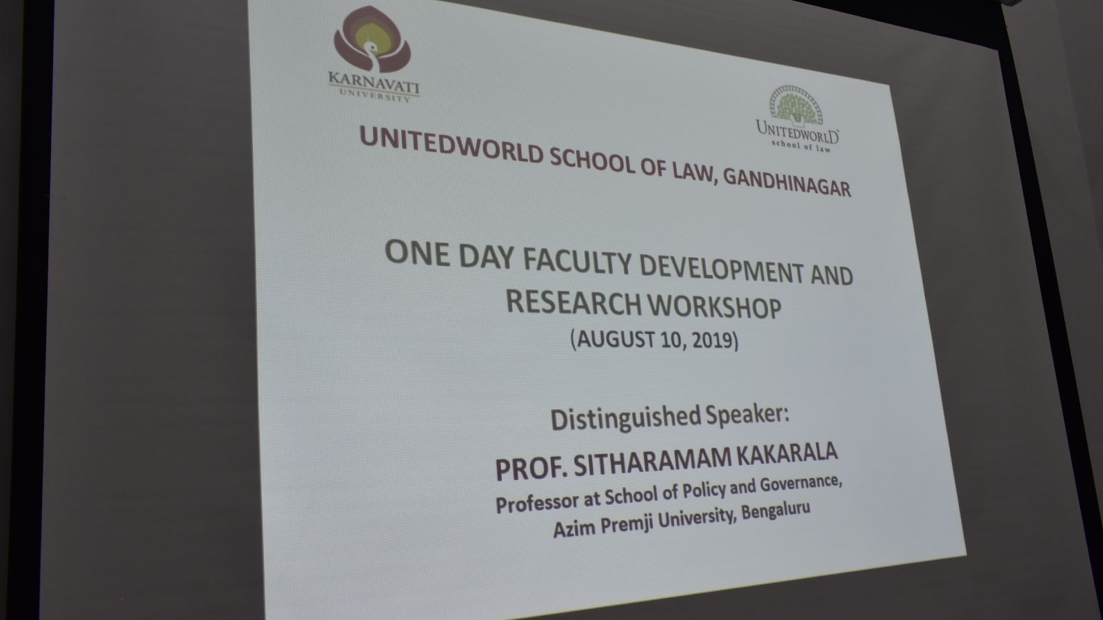 Faculty Development & Research Workshop Image