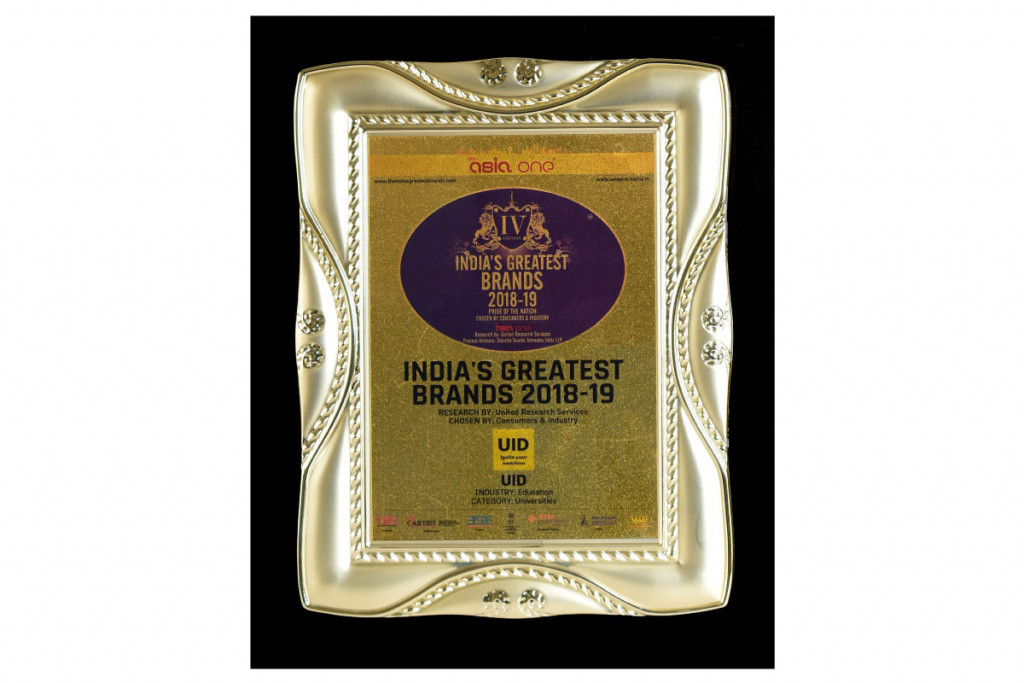India Greatest Brand Award - Karnavati University
