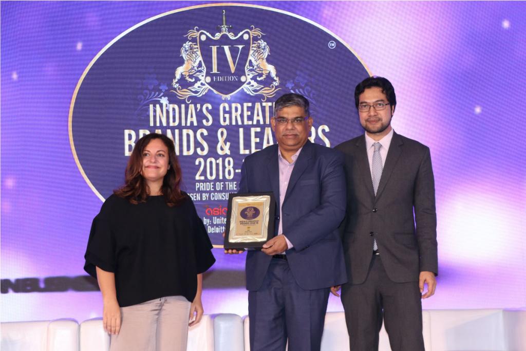 India's Greatest Brand Award 2018-19 - Karnavati University