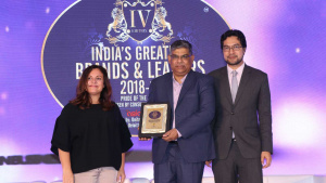 India's Greatest Brand Award 2018-19 - Karnavati University