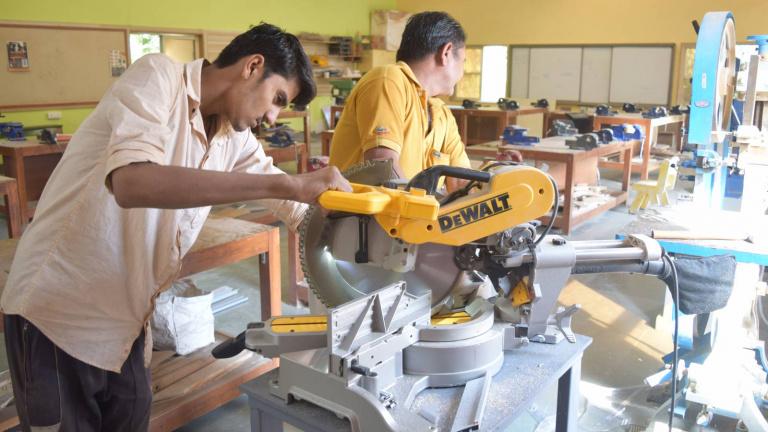 Students at Workshop - Karnavati University