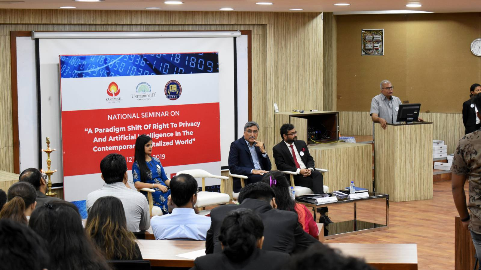 National Seminar on Privacy & AI Image