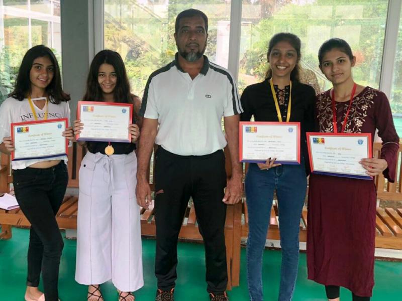 KU girls win GLS College Titanium Jural Fest Image