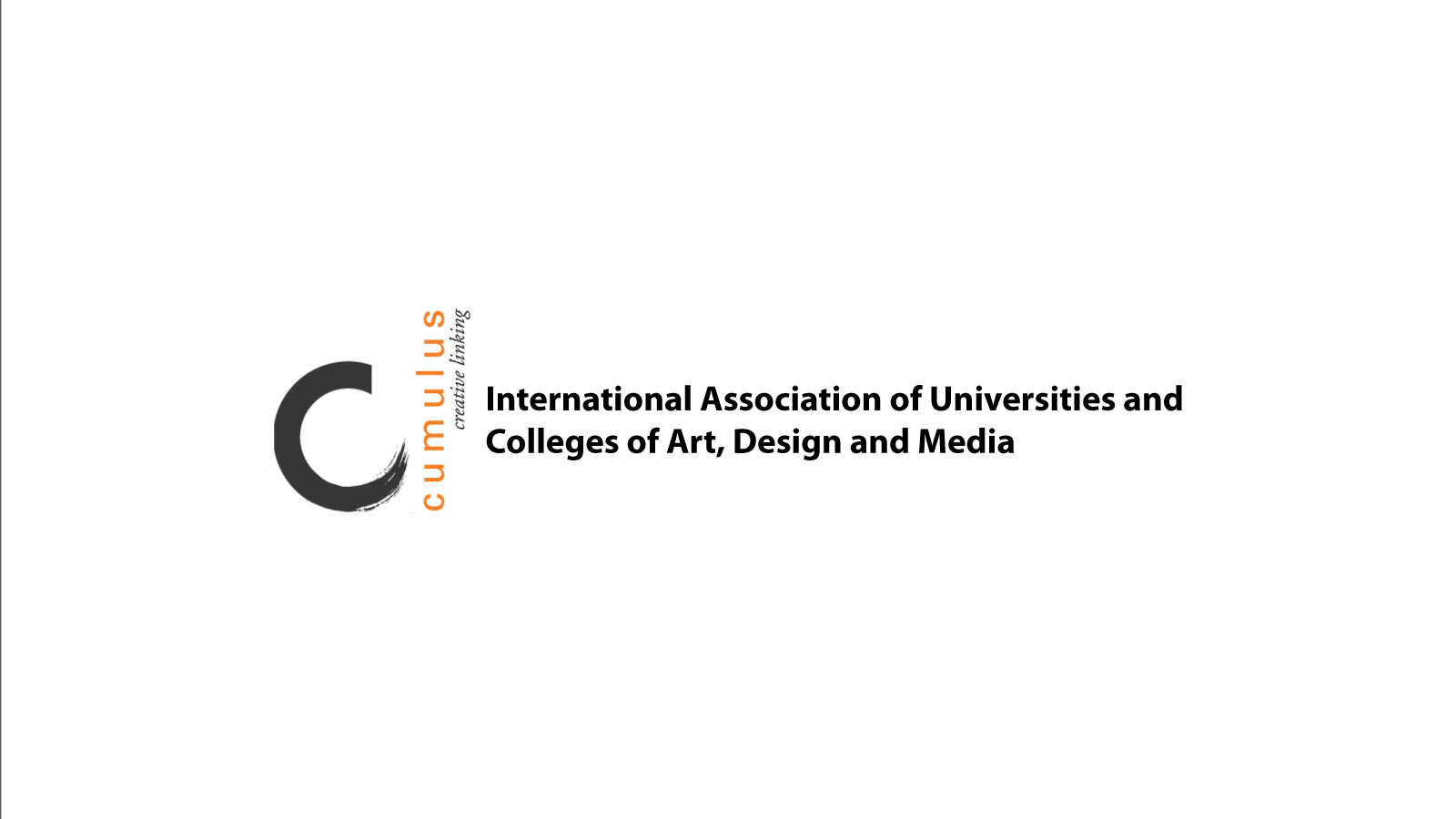 CUMULUS - International Association Of Universities and Colleges of Art, Design & Media