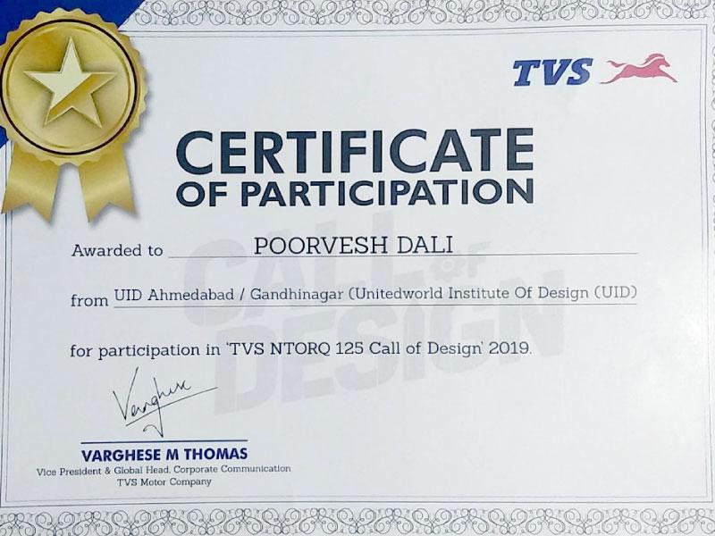 "TVS NTORQ – ""Call for Design"" Image"