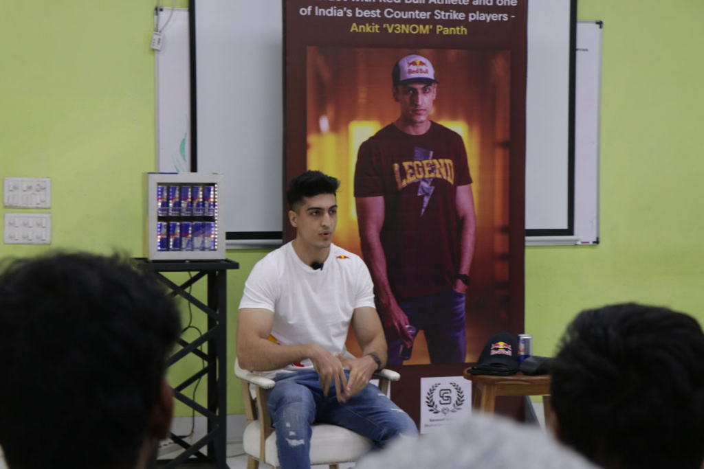 Ankit Panth Founder of Team Brutality at Karnavati University