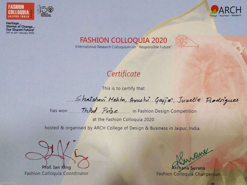 Fashion Colloquia 2020 winners Image