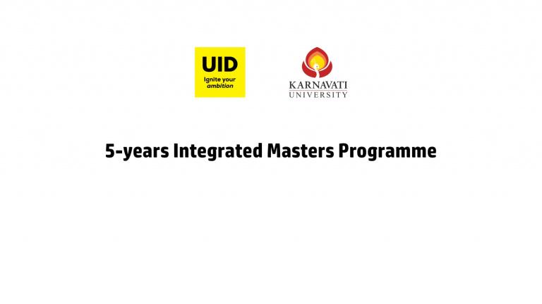 Karnavati Universsity Offers 5 Years Integrated Masters Programme