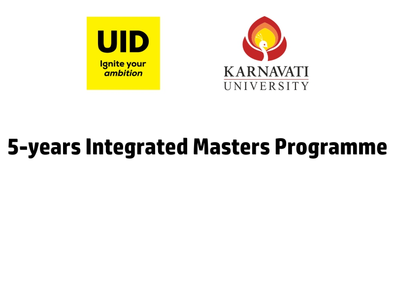 5-years Integrated Masters Programme Image