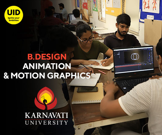 B.Design Animation and Motion Graphics Image