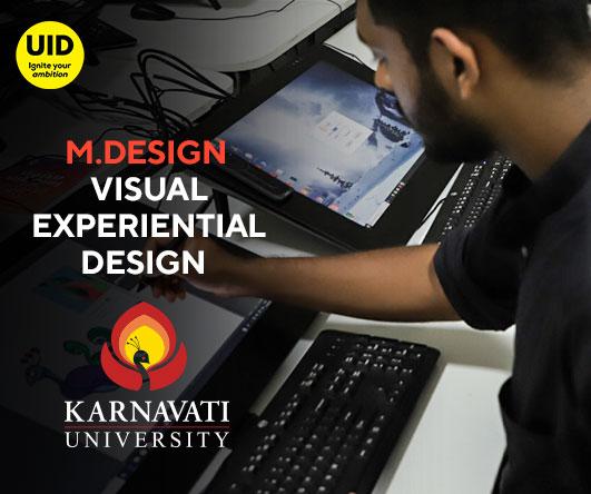M.Design Visual Experiential Design Image
