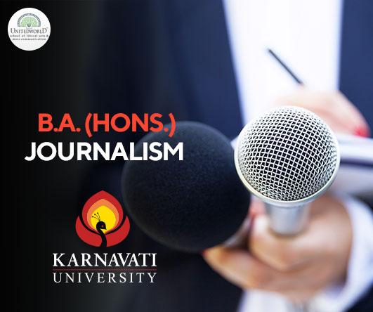 B.A. (Hons.) Journalism Image