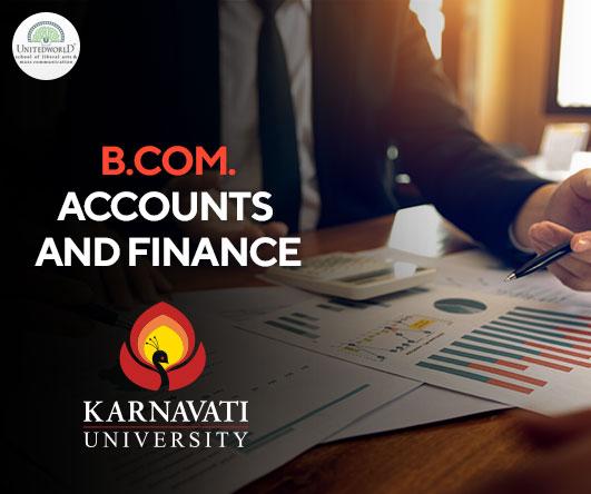 B.Com. (Hons.) Accounts and Finance Image
