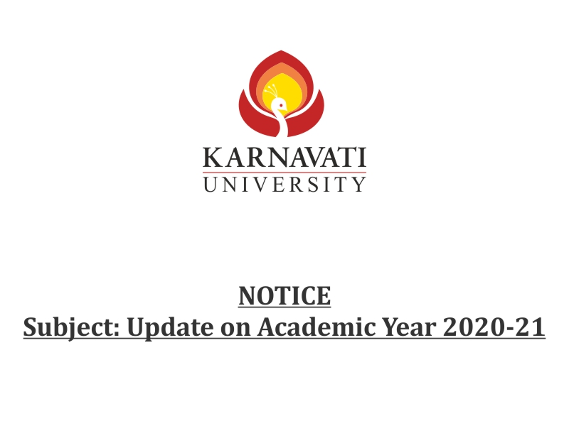 Update on Academic Year 2020-21 Image